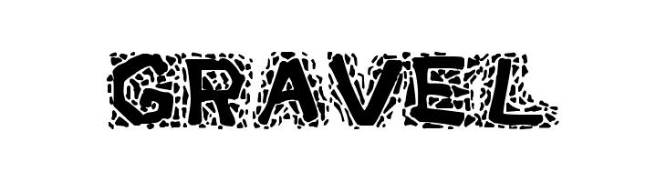 Gravel  नि: शुल्क फ़ॉन्ट्स डाउनलोड