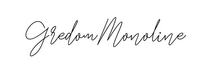 GredomMonoline  لخطوط تنزيل