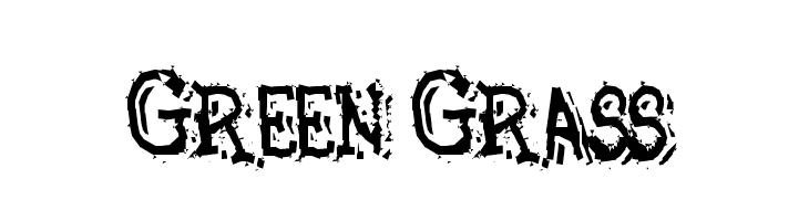 Green Grass  フリーフォントのダウンロード