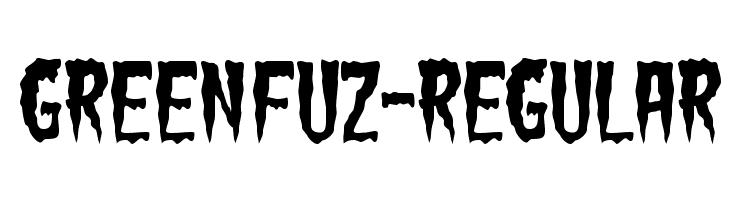 GreenFuz-Regular Font