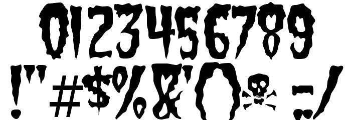GreenFuz-Regular Font OTHER CHARS