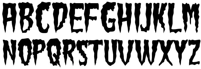 GreenFuz-Regular Font UPPERCASE