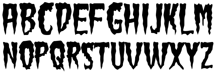 GreenFuz-Regular Font LOWERCASE
