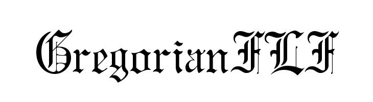 GregorianFLF لخطوط تنزيل