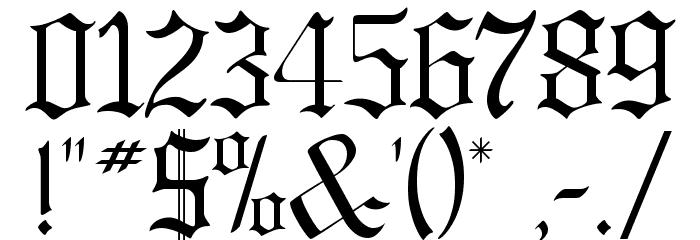 GregorianFLF لخطوط تنزيل حرف أخرى