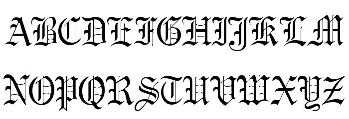 GregorianFLF لخطوط تنزيل الأحرف الكبيرة
