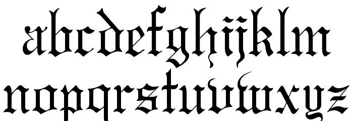 GregorianFLF لخطوط تنزيل صغيرة