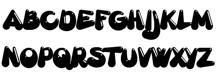 Gretoon Highlight Шрифта ВЕРХНИЙ