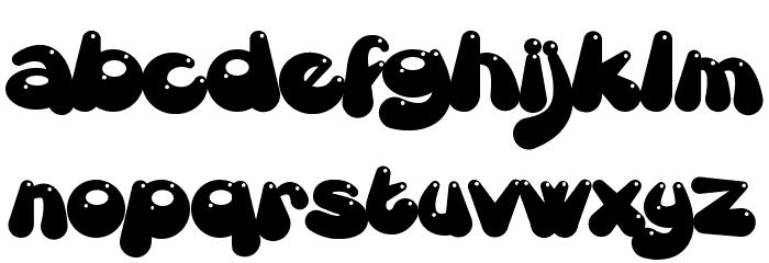 Gretoon Highlight Font LOWERCASE