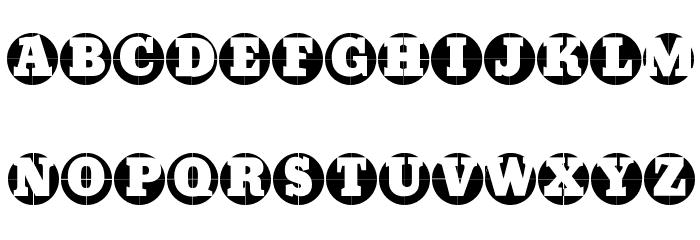 GridConcreteLogoable Font Litere mari