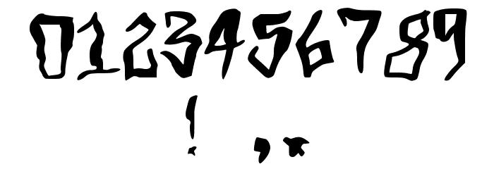 Grimey Шрифта ДРУГИЕ символов