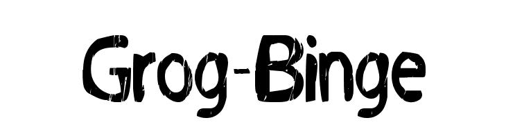 Grog-Binge  नि: शुल्क फ़ॉन्ट्स डाउनलोड