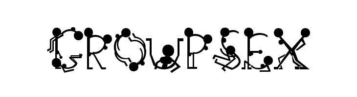 font group sex