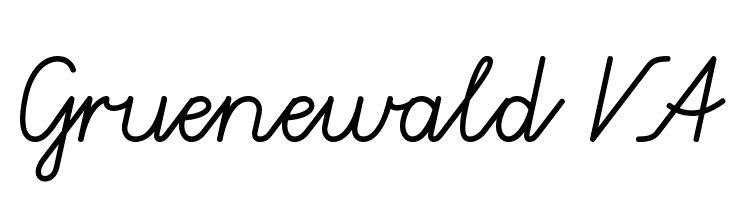 Gruenewald VA  Free Fonts Download