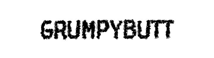 Grumpybutt  नि: शुल्क फ़ॉन्ट्स डाउनलोड
