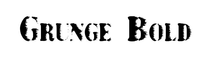 Grunge Bold  नि: शुल्क फ़ॉन्ट्स डाउनलोड