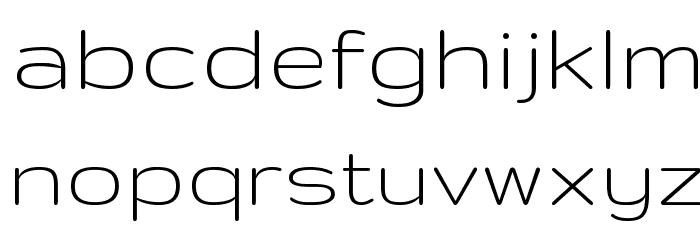 Gruppo Font LOWERCASE
