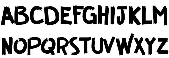 GUERRILLA FONT フォント 大文字