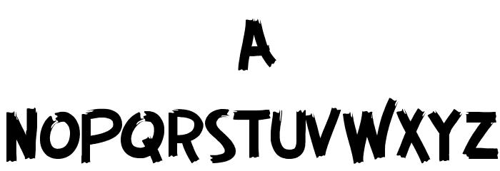 GUERRILLA FONT フォント 小文字