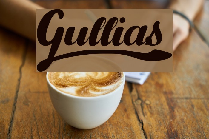 Gullias Font examples