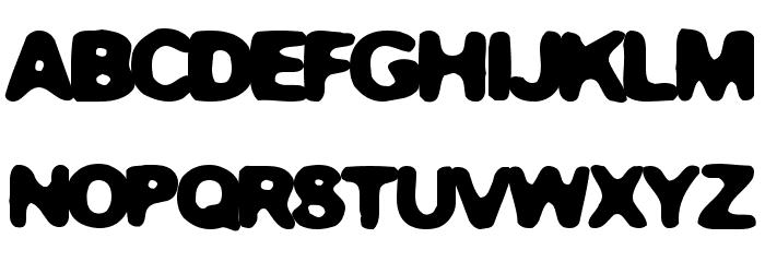 Gummy Font UPPERCASE
