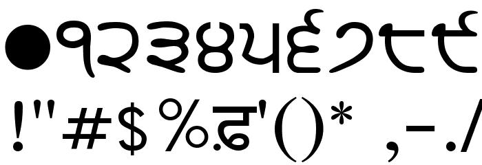 GurbaniLipi Шрифта ДРУГИЕ символов