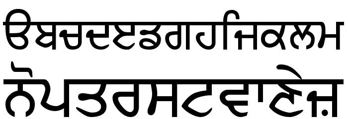 GurbaniLipi Шрифта строчной