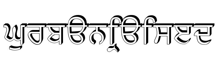 GurbaniRaised  les polices de caractères gratuit télécharger