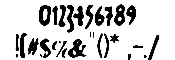 GutenbergsGhostM Font OTHER CHARS