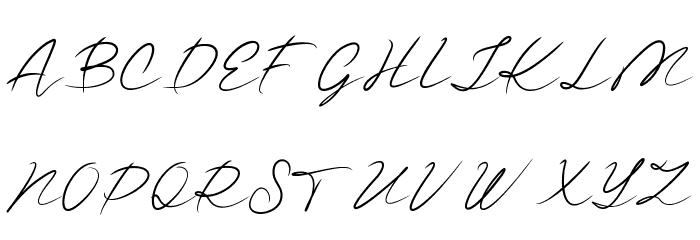 Guttime Caratteri MAIUSCOLE