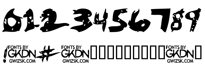 GwizsK-Regular Font OTHER CHARS