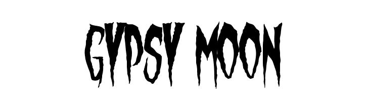 Gypsy Moon  नि: शुल्क फ़ॉन्ट्स डाउनलोड