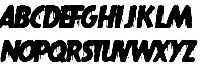 gypsyland フォント 大文字