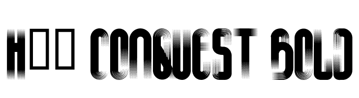 H74 Conquest Bold  Free Fonts Download