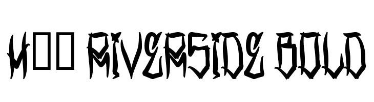 H74 Riverside Bold  Free Fonts Download