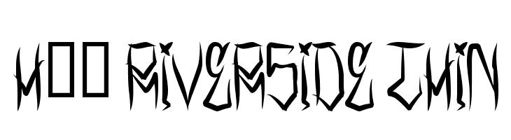 H74 Riverside Thin  لخطوط تنزيل