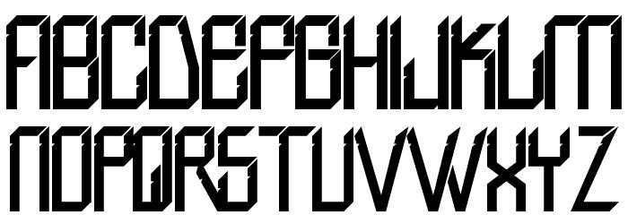 H74 Valkyrie Font Litere mici