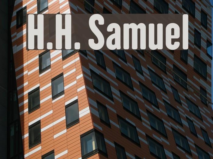 H.H. Samuel Font examples