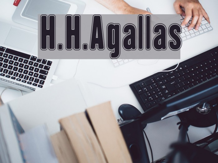 H.H.Agallas Font examples