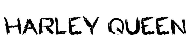 HARLEY QUEEN  les polices de caractères gratuit télécharger