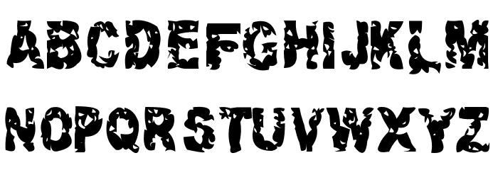 Hacknslash Font UPPERCASE
