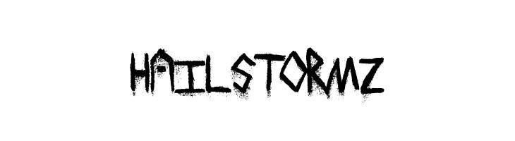HailStormz  Free Fonts Download