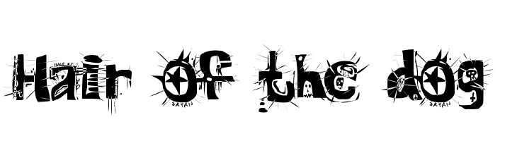 Hair of the dog  Free Fonts Download