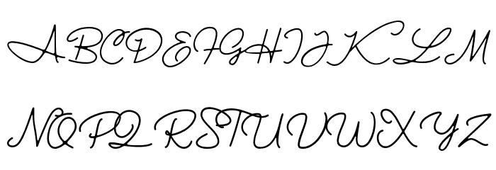 Halimun 字体 大写