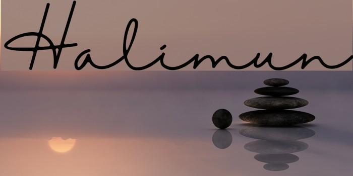 Halimun Шрифта examples