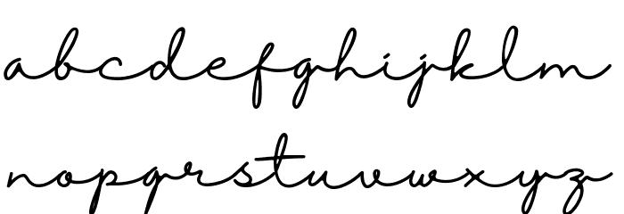 Halimun 字体 小写
