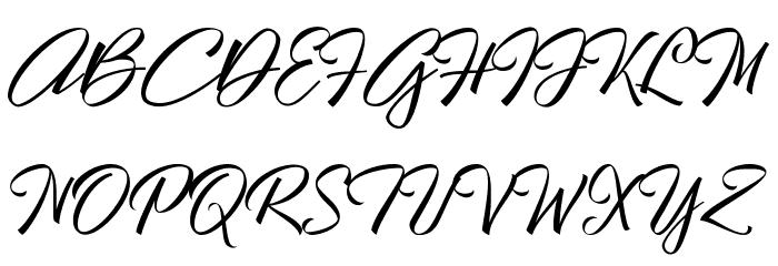 Hallelujah Font Litere mari