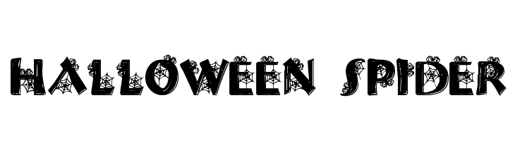 Halloween Spider  Free Fonts Download