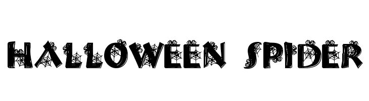 Halloween Spider  フリーフォントのダウンロード