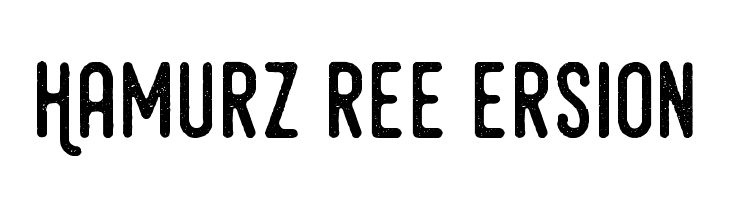 HamurzFreeVersion  Free Fonts Download